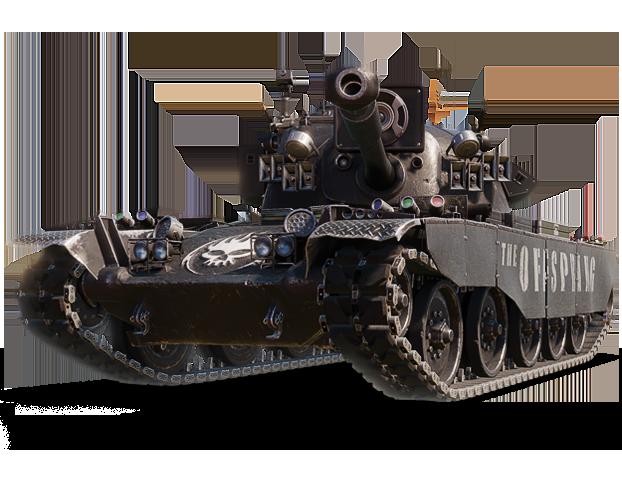 TL-1 LPC — танк The Offspring в 3D-стиле «Pretty Fly»!