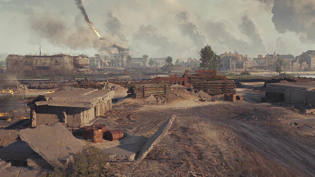 Встречайте карту «Берлин» в случайных боях!