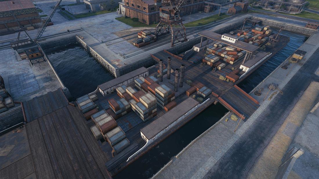 Обновление 1.14: карта «Старая гавань»